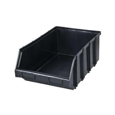 ModulÁris mŰanyag tÁrolÓdoboz - 310x490x190mm / fekete